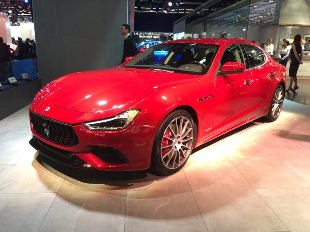 Frankfurt: Maserati Ghibli GranSport z boljšo aerodinamiko in 430 'konji' (foto: Dušan Lukič)