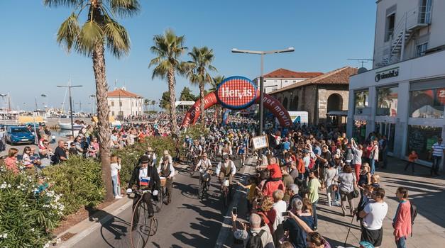 Na Obali bo čez vikend potekal Istrski maraton - objavljamo seznam cestnih zapor (foto: Istrski kolesarski maraton)