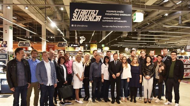 Fotogalerija: S svojimi izdelki so se predstavili podjetniki nove sezone Štartaj Slovenija! (foto: Igor Zaplatil)