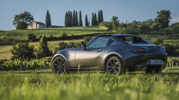 Krati test: Mazda MX-5 RF (foto: Luka Fabčič)