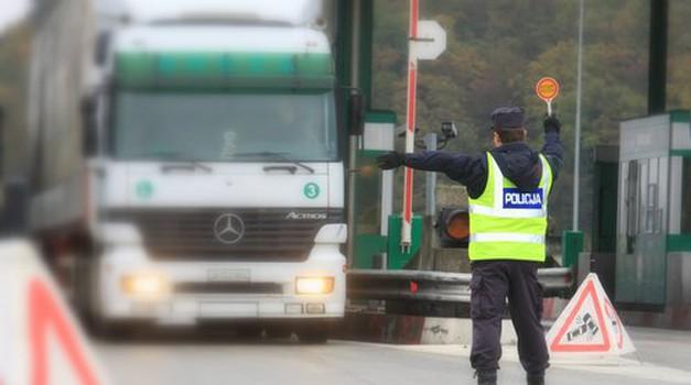 Policija začenja vseevropsko akcijo 'Bus & Truck' (foto: Policija)