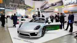 Porsche Cayman e-volution kot znanilec Porschejeve električne prihodnosti