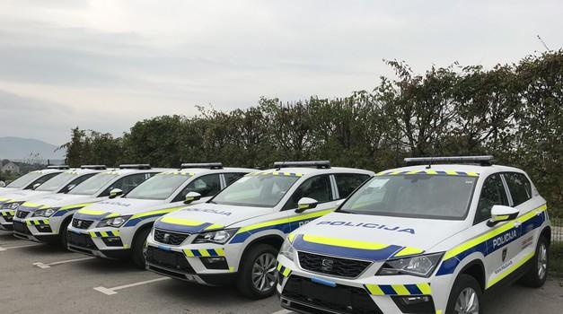 Nove Seat Atece za slovensko policijo