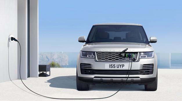 Range Rover je postal priključni hibrid (foto: JLR)