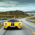 Ford GT je postavil rekord na severu Norveške (foto: Ford)