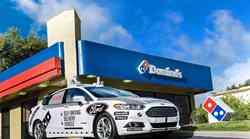 Ford in Domino's skupaj v projekt avtonomne dostave pic