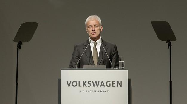 Volkswagnov prvi mož ostro proti podjetju Tesla (foto: Volkswagen)