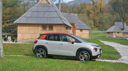 Novo v Sloveniji: Citroën C3 Aircross