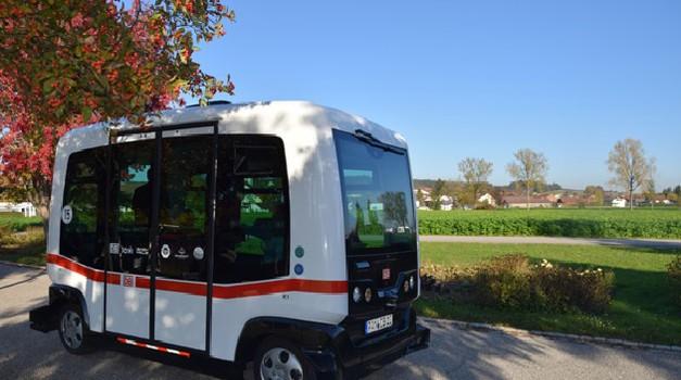 V Nemčiji na ceste zapeljal prvi avtonomni avtobus (foto: TÜV Süd)