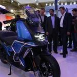 BMW 2018: Dva nova predstavnika družine F, maksi skuter C400X in potovalno naravnan K1600 Grand America (foto: Matevž Hribar)