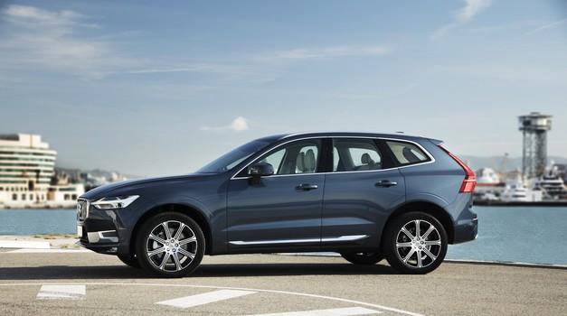 Volvo XC60 najboljši na testu Euro NCAP (foto: Volvo)