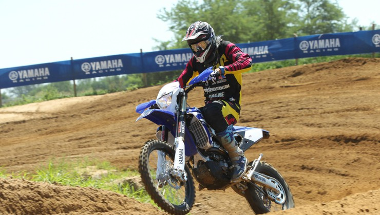 Test: Yamaha YZ450F - prvi 'pametni' kros motocikel