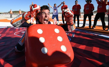 MotoGP, Velika Nagrada Valencie: bili smo tam, kjer je slavil Marquez