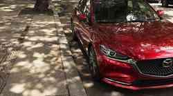 Mazda v Los Angeles s prenovljenim modelom Mazda 6 in motorji Skyactiv-G