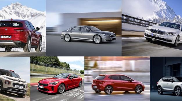 Znani so finalisti za Evropski avto leta 2018 (foto: MJ)