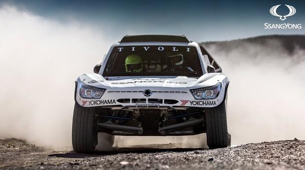 Video: Ssangyong na Dakar 2018 z dirkalnikom Tivoli DKR (foto: Ssangyong Global)
