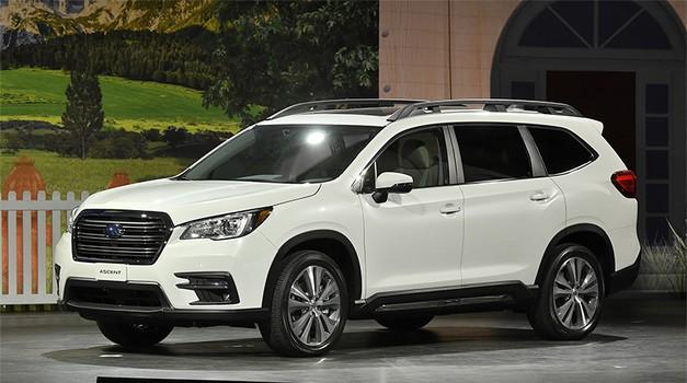Subaru predstavlja svoj največji SUV Ascent (foto: Subaru)