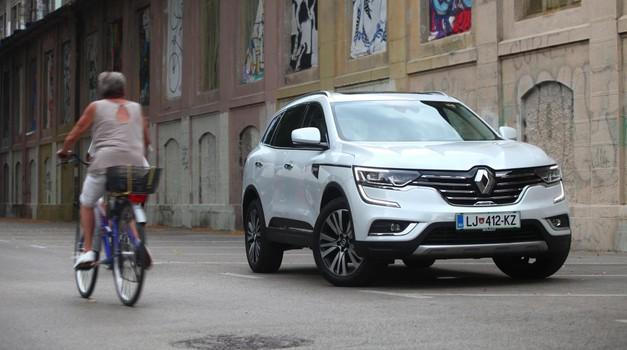 Test: Renault Koleos Initiale Paris Energy dCi 175 4WD X-Tronic (foto: Saša Kapetanović)