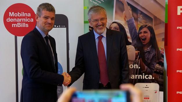 Petrol in MBills vzpostavila nov sistem brezgotovinskega plačevanja (foto: Petrol)