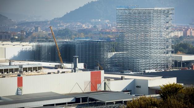 Seat gradi najvišje avtomatizirano skladišče v Španiji (foto: Seat)