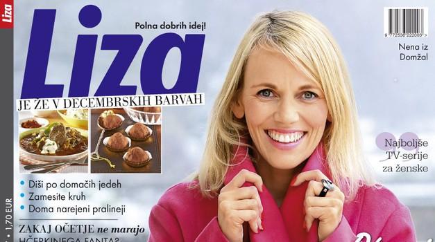 Revija Liza tokrat v kompletu s knjigo o Goranu Dragiću