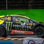 Rossi kljub kazni za prelahek dirkalnik ponovno kraljeval na reliju v Monzi (foto: Monster Energy)
