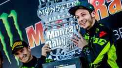 Rossi kljub kazni za prelahek dirkalnik ponovno kraljeval na reliju v Monzi