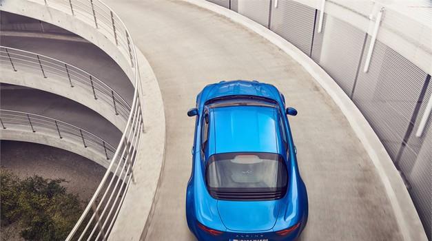 Še močnejši Alpine A110 Sport Chasis že v pripravi (foto: Renault)
