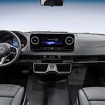 Mercedes Benz nadaljuje s (postopnim) predstavljanjem Sprinterja (foto: Daimler)