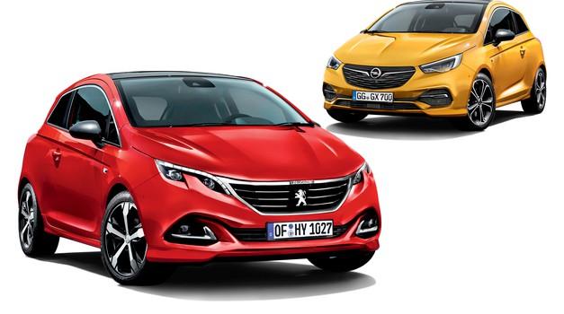 Dva iz enega: razkrivamo Peugeot 208 in Opel Corsa (foto: Bojan Perko)