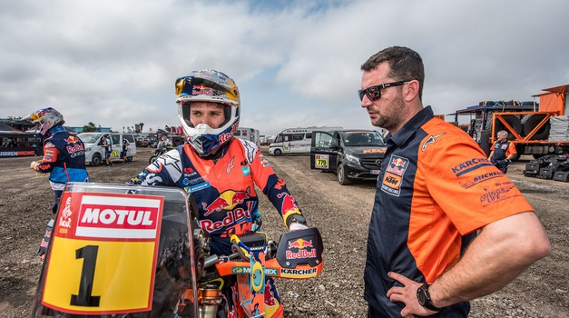 Dakar 2018: slovenska Adria je spet opremila KTM-ovo tovarniško ekipo (foto: PhotosDakar.com)