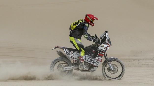 Dakar 2018-3: Barreda, Van Beveren, Marčič (in še kdo) izgubljeni v sipinah (video) (foto: Rallyzone)