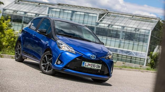 Kratki test: Toyota Yaris 1.5 HSD E-CVT Bitone Blue (foto: Uroš Modlic)