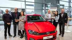 Slovenski avto leta 2018: pokal za Volkswagen Polo