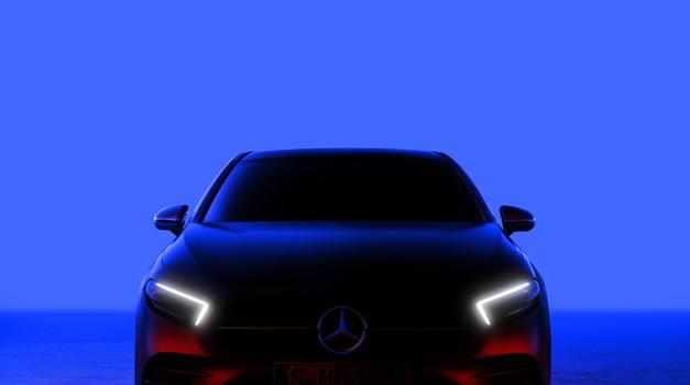 Mercedes Benz razred A (skoraj) razkrit (foto: Daimler)