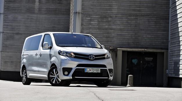 Test: Toyota Proace Verso 2.0 D-4D 150 HP Family (foto: Saša Kapetanovič)