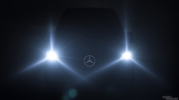 Video: novi Mercedes-Benz Sprinter prihaja 6. februarja (foto: Daimler)