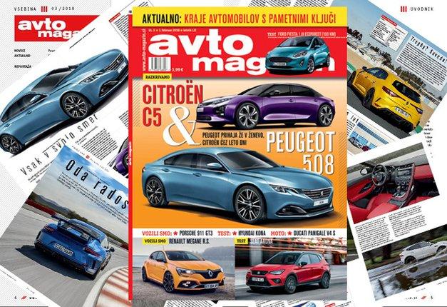 Izšel je novi Avto magazin! Testi: Ford Fiesta, Seat Arona, Hyundai Kona (foto: MJ)