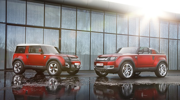 Novi Land Rover Defender že leta 2019 in s pogonom na elektriko