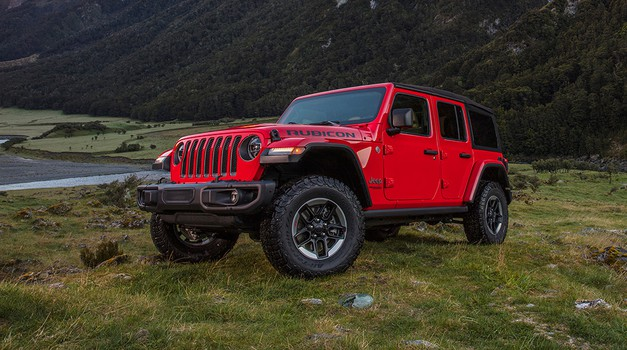 Naravovarstveniki nad ameriškega proizvajalca terenskih vozil Jeep (foto: FCA)