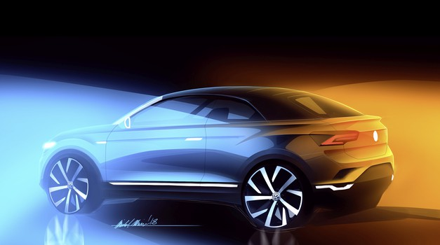 Volkswagen gre na pot SUV kabrioletov – prvi bo zasnovan na T-Rocu (foto: Volkswagen)