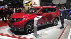 Ženeva 2018: Honda CR-V premierno v Evropi kot hibrid