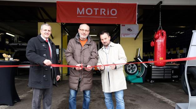 Ljubljana dobila nov avtoservis iz verige Motrio