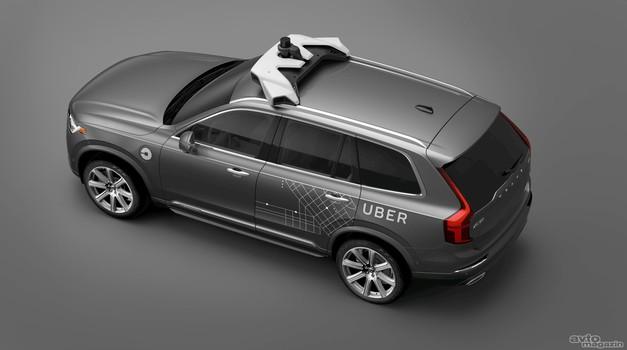 Uberjev avtonomni avto je povzročil prometno nesrečo s smrtnim izidom, testiranja ustavljena (foto: Volvo)