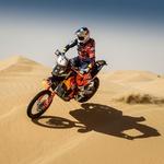 Puščavski izziv 2018: zmagovalca prve etape Toby Price in Luc Alphand