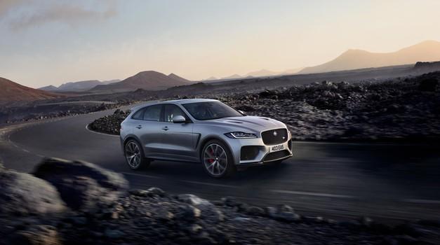Range Rover Sport SVR dobiva 'bratsko' konkurenco, prihaja Jaguar F-Pace SVR (foto: Newspress)