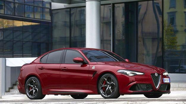 Alfa Romeo Giulia coupe naj bi naposled le prišla, pod pokrovom se bo skrivalo 641 'konjev' (foto: FCA)