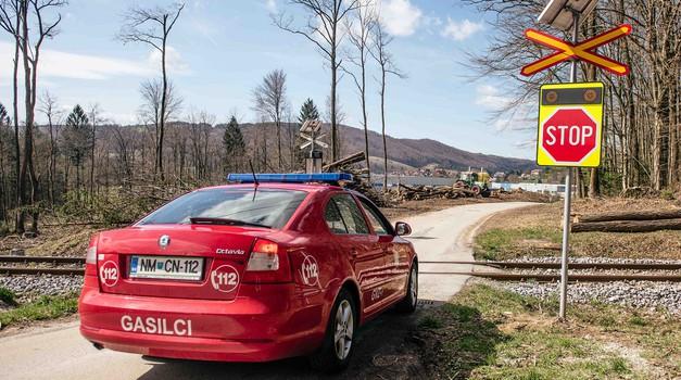 Železniški prehodi v Sloveniji z rešitvijo COPS od zdaj še nekoliko bolj varni (foto: Zavarovalnica Triglav)