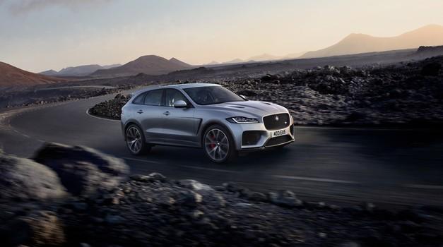J-Pace bo nov največji Jaguarjev SUV (foto: Jaguar)