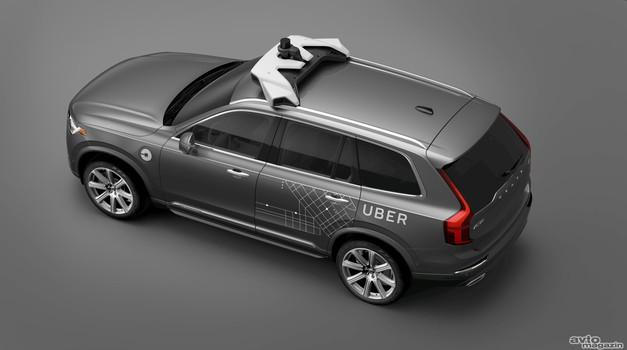 Uber bo nadaljeval razvoj samovozečih avtomobilov (foto: Volvo)